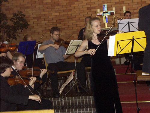 Mozart Sinfonia concertante Solistinnen