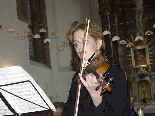 Solistin Stefanie Kellner
