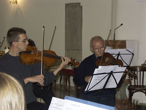 Mozart und Kornfeil