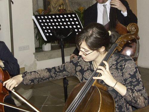 Cello hautnah