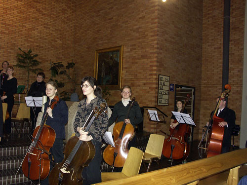 die Cello Gruppe