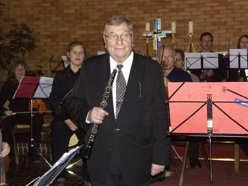 Oboist Prof. Alfred Hertel