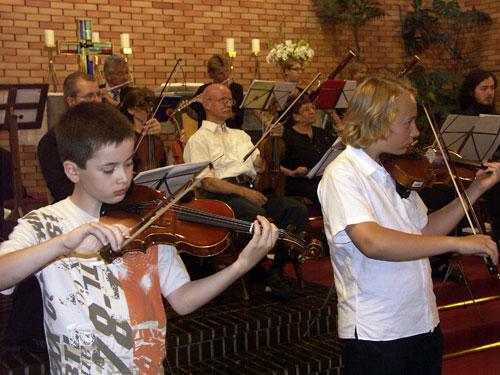 Geigenschüler