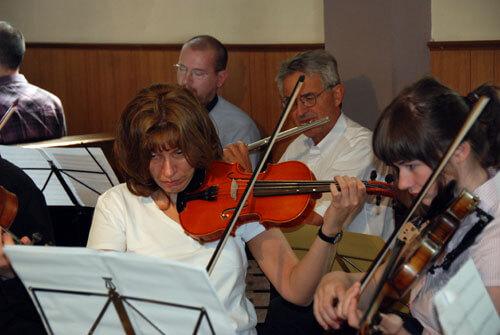 Streicher und Flöten