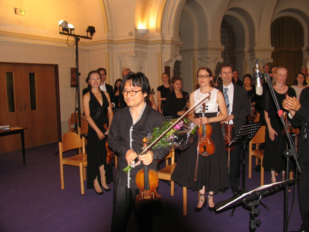 Sommerkonzert 2018 - Solist Elias Kim mit Concentus21 Wien