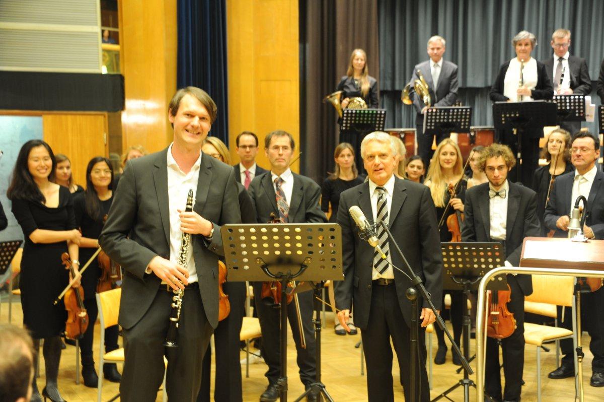 Solist Johann Kronthaler mit Concentus21 Wien
