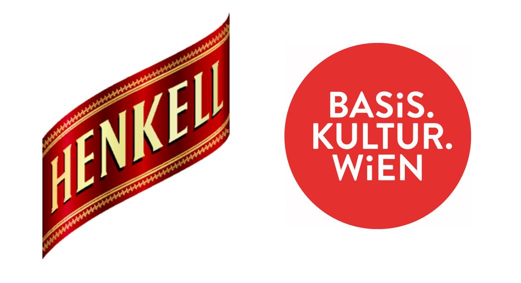 Logo Sponsoren Basis Kultur Wien und Henkell Sektkellerei