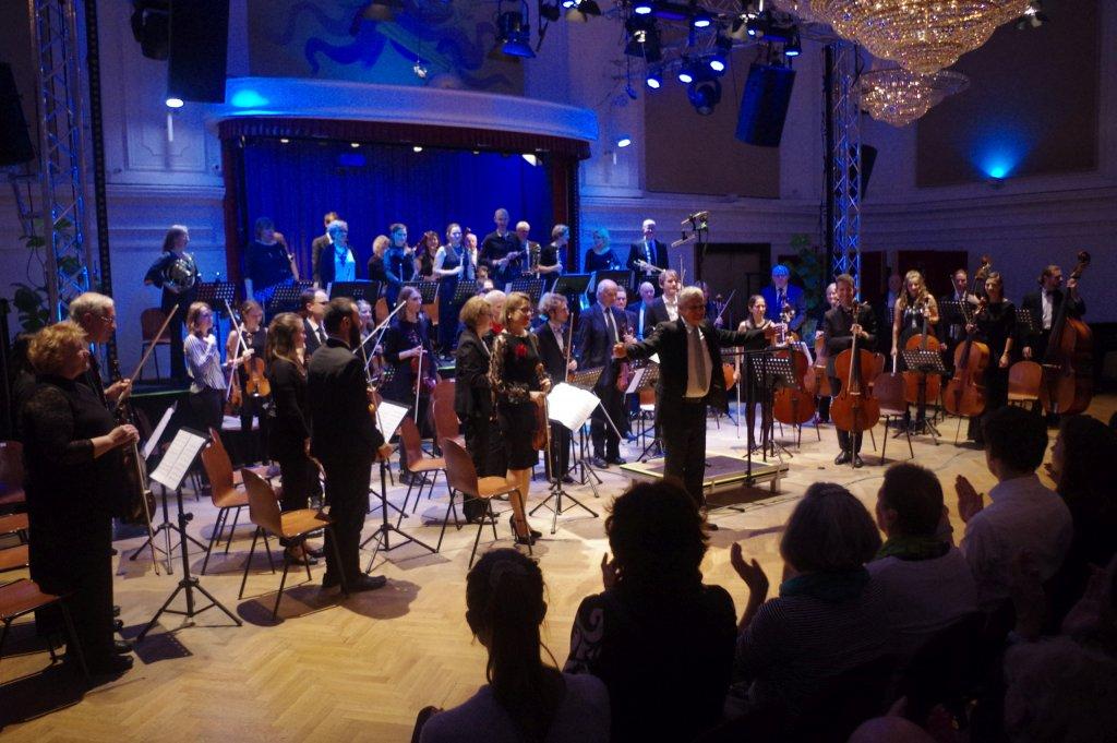 Applaus für das Orchester