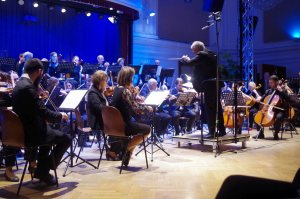 Orchester Concentus21 in Aktion
