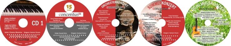 Neben dem Ticketshop bieten wir auch an CDs der letzten Konzerte bequem per Email zu bestellen
