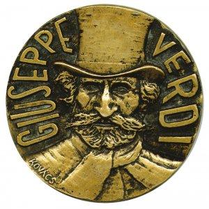Medaille Giuseppe Verdi