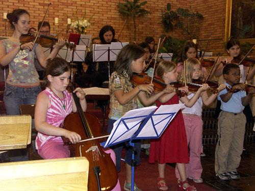Suzuki Geigenschülerinnen