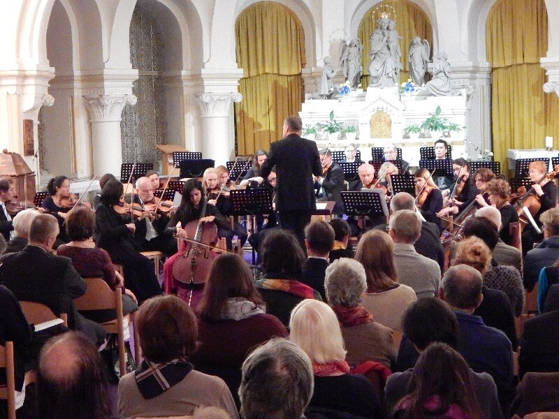 Konzert in der Krypta